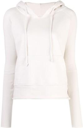 Nili Lotan Drawstring Hooded Sweatshirt