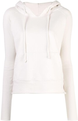 Nili Lotan drawstring hooded sweatshirt