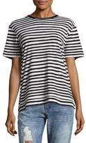 Marc by Marc Jacobs Sketch Striped Cotton Tee