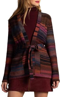 Trina Turk Wine Country Bosworth Self-Tie Wool-Blend Sweater