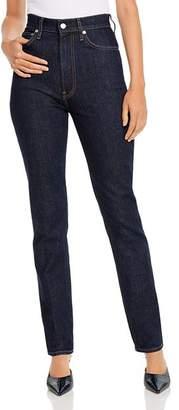 Helmut Lang Helmut Lane Femme High Rise Jeans in Dark Rinse