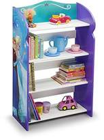 "DC Frozen Bookshelf Organizer Toy Storage Princesses Anna And Elsa Kid Bed Play Room Bin Box Book Shelf, Durable and easy-to-clean finish, Made of engineered wood 19.75""L x 10.25""W x 33""H"