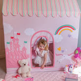 Kiddiewinkles Large Children's Princess Castle And Unicorn Playhouse