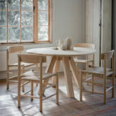 Houseology Garden Trading Hambledon Raw Oak Round Dining Table