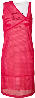 Helmut Lang Mesh Layer Dress