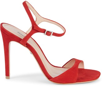 Schutz Jade Suede Sandals