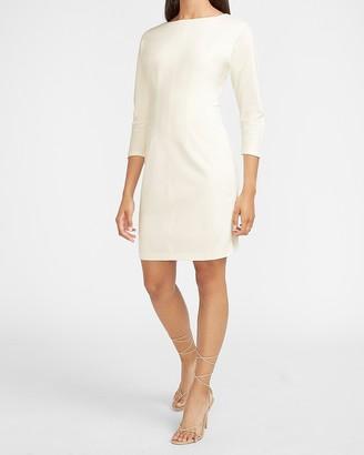 Express Dolman Sleeve Sheath Dress