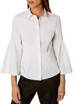 Karen Millen The Bell Sleeve Shirt