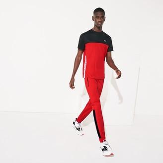 Lacoste Mens SPORT Colorblock Tricot Sweatpants