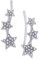 INC International Concepts Silver-Tone Pavé Star Ear Climbers, Created for Macy's
