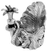 Arthur Court Designs© 2-Piece Elephant Wine Stopper and Caddy Set