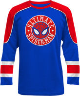 NOVELTY SEASON Novelty Season Long Sleeve Spiderman Graphic T-Shirt