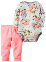 Carter's 2-Piece Bodysuit & Neon Pant Set
