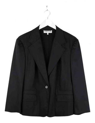 Cerruti Black Cotton Jackets