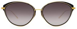 Linda Farrow 912 C1 Cat Eye Sunglasses