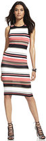 New York & Co. Midi Sweater Sheath Dress - Stripe