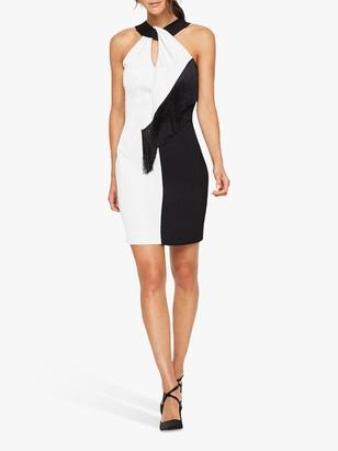 Damsel in a Dress Azalea Tassel Dress, Black/White