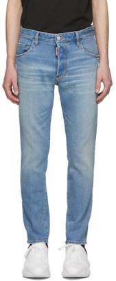 DSQUARED2 Blue Skater Light Dusty Jeans