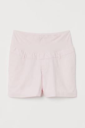 H&M MAMA Cotton chino shorts