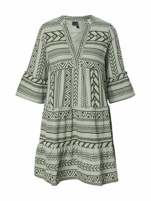 Vero Moda Women's Vmdicthe 3/4 Tunic Exp Ga Dress
