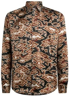 Edward Crutchley Silk Japan Cloud Shirt