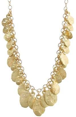 FLAKE Victoria Cunningham Golden Cluster Necklace