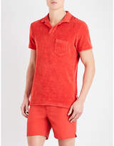 Orlebar Brown Riviera Cotton Terry-towelling Polo Shirt