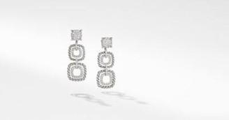 David Yurman Chatelaine Full Pave Triple Drop Earrings
