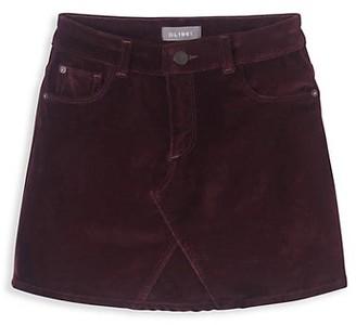 DL1961 Little Girl's & Girl's Jenny Velvet Skirt