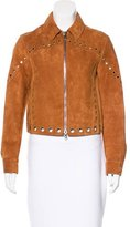 3.1 Phillip Lim Grommet-Embellished Suede Jacket w/ Tags