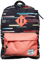 Herschel Printed Nylon Canvas Backpack