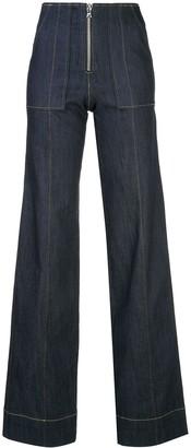 Cinq à Sept Zadie flared jeans
