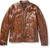 Belstaff Maxford 2.0 Leather Jacket - Brown