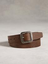 John Varvatos Artisan Flat Strap Belt
