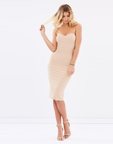 Adianna Dress - Nude