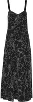 Rag & Bone Jade printed silk midi dress