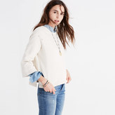 Madewell Rivet & Thread Distressed Bell-Sleeve Sweatshirt