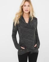 White House Black Market Marled Knit Jacket