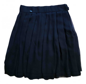 Chanel Blue Silk Skirts
