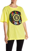 Love Moschino Beach Troops Front Graphic Print Tee