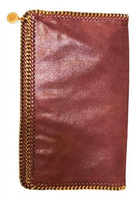 Stella McCartney Falabella Burgundy Cloth Clutch bags