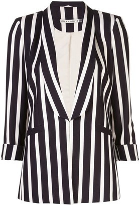 Alice + Olivia Striped Blazer