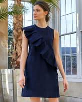 Ted Baker Oversized ruffle Aline cotton dress