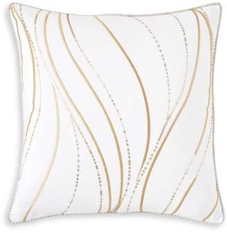 "Yves Delorme Plisse Decorative Pillow, 18"" x 18"""
