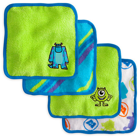 Disney Monsters, Inc. Washcloth Set for Baby