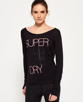 Superdry Studio Drape Crew Top