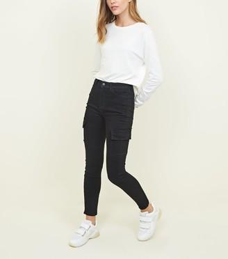New Look Utility Pocket Skinny Jenna Jeans