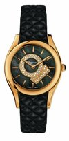 Salvatore Ferragamo Women's FG4030014 LIRICA Diamond and Gold Ion-Plated Stainless Steel Watch