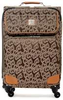 "Diane von Furstenberg Jacquard Hearts 24"" Expandable Spinner"