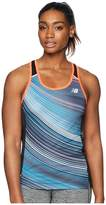 New Balance NB Ice 2.0 Print Tank Top Women's Sleeveless